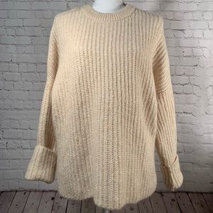 Sweaters - Oversized Wool Sweater Medium